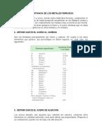TECNOLODIA DE PROCESOS Y MATERIALES- PRACTICA 1