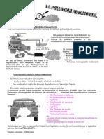1 _ LES PRINCIPALES SOURCES DE POLLUTION. Pour les moteurs thermiques différentes sources de rejets de polluants sont possibles.