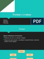 Formar y evaluar (1)