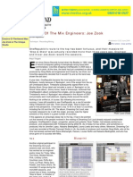 Secrets Of The Mix Engineers_ Joe Zook