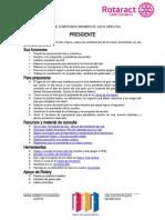 CARTA DE COMPROMISO JUNTA DIRECTIVA ROTARACT 2021