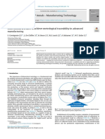 Dimensional artefacts to achieve metrological traceability in advanced