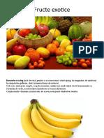 Fructe exotice inspectie