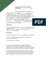 MODELO DE AÇÃO DE OBRIGAÇÃO DE FAZER - MULTAS