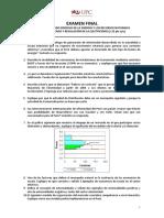 Examen Final Regulación de la Energia  - César Butrón-Daniel Camac