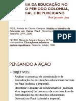 HISTÓRIA DA EDUCAÇÃO NO PIAUÍ_REIS & FERRO
