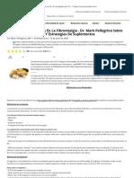 Enfoques nutricionales en la fibromialgia - Dr. Mark Pellegrino sobre deficiencias, síntomas y estrategias de suplementos - Prohealth