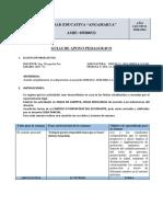 8.1 PLAN DE CONTINGENCIA 2DO-A S3