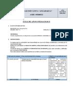 8.1 PLAN DE CONTINGENCIA 3RO-A S3