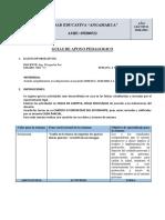 8.1 PLAN DE CONTINGENCIA 3RO-A S4