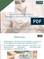 Podología Clínica icce_1°unidad. La podología en Chile y el mundo..pdf