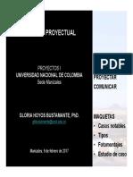 1 GHB Representacion en Proceso Proyectual 2017-I