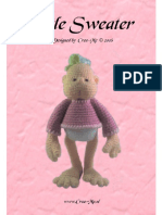 doll sweater pink (dotje)+