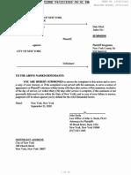 157807 2020 Robert Cascalenda v City of New York Summons Complaint 1