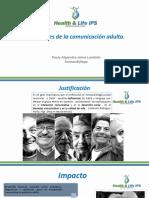 DESÓRDENES DE LACOMUNICACIÓN ADULTA.
