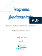 Programa fundamentado actualizado