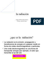 la radiación diapositivas
