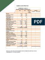 Estado de cambios en la situacion financiera  (CASO PRACTICO)
