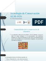 Tecnologia de conservacion generalidades