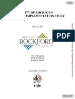 Rockford Bikeway Transportation Study