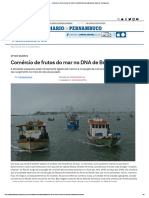 Manchete de Jornal, Brasília Teimosa, Recife