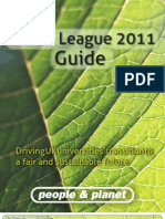 Green League Guide 2011 Revised