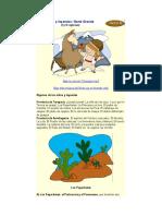 Mitos y Leyendas Chile Zonas