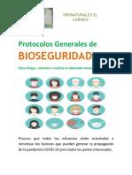 Protocolos Generales de BIOSEGURIDAD