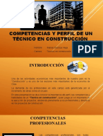 competencias de un Técnico en construcción