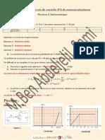 Devoir Corrigé de Contrôle N°2 - Sciences physiques pH d'une solution, la diode et le transistor bipolaire - 2ème Informatique (2010-2011) Mr Ben Abdeljelil Sami.pdf