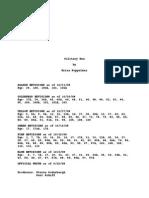 SOLITARY MAN_Full Shooting Script