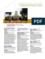 CALCASA Legislative Update 01/28/11