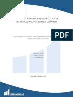4. Elementos nueva politica desarrollo Colombia
