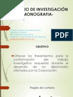 SEMINARIO DE INVESTIGACIÓN - MONOGRAFIA
