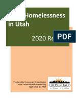Utah Child Homelessness Report 2020