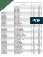 Lista De Precios Xmovil Clientes