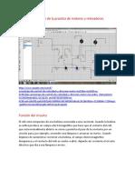 Simulación de la practica de motores y relevadores