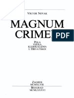 Magnum Crimen ; Пола Века Клерикализма у Хрватској - Виктор Новак