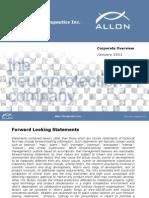 Allon Investor Presentation