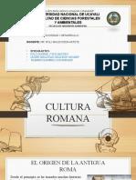 2.2. Cultura Romana