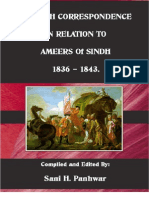 British Correspondence in Relations to Ameers of Sindh