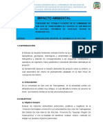 5 Estudios Básicos - Impacto Ambiental .. 1