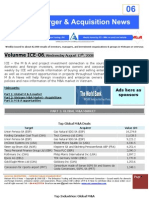 ICE06-Mergers & Acquisitions NEWS