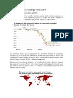 Impacto al PIB por crisis sanitaria