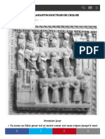 NEUVAINE A SAINT AUGUSTIN DOCTEUR DE L'EGLISE - LA VÉRITÉ VOUS RENDRA LIBRES_1595200103853