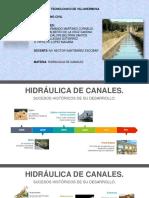 Historia de la hidráulica de canales