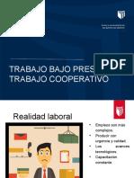 Ppt Trabajo Cooperativo y Bajo Presión