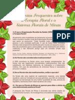 Perguntas sobre florais de minas