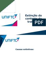 slides Extinção do contrato de trabalho – semana 9 - aulas 23 e 24(1).pdf