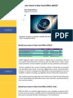 NFOs and Overseas funds_ManMohan
